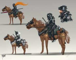 Knight Cavalry by benedickbana