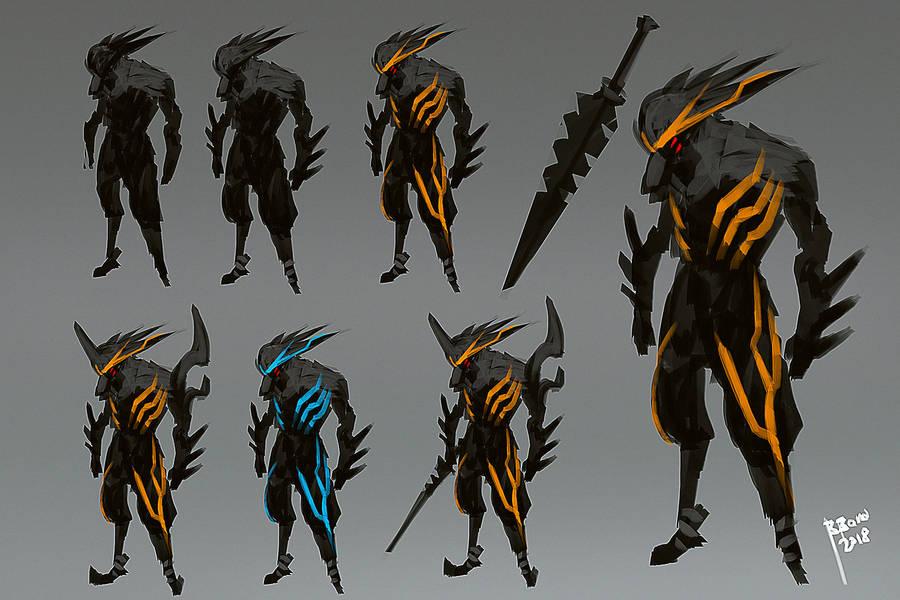 Quantum Break Character Design by benedickbana