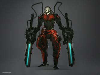 Skull Soldier by benedickbana