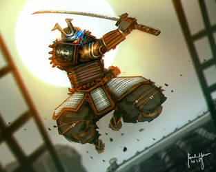 Dawn of the Samurai by benedickbana