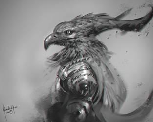 Aethon Warrior by benedickbana