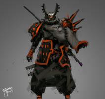 Samurai Codename Beetle by benedickbana