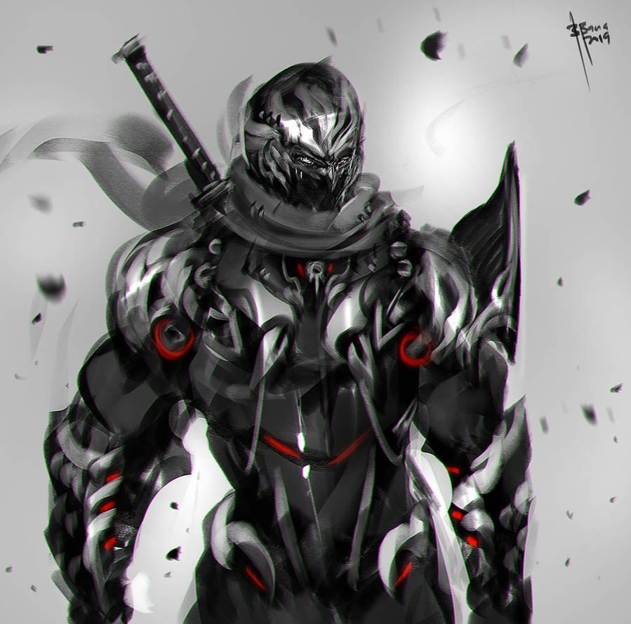 Ninja Gaiden Fanart by benedickbana