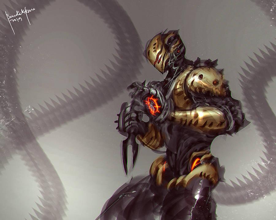 Scorpion FanArt by benedickbana