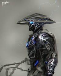Raiden Fanart Cyber Evolution by benedickbana