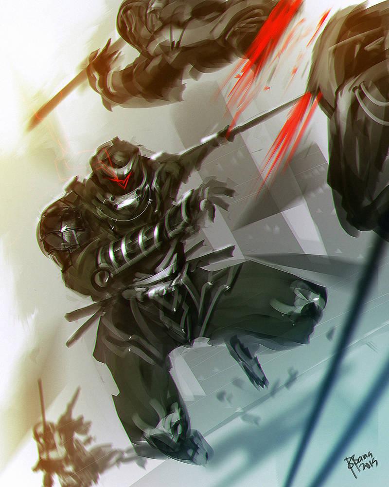Ninja War by benedickbana