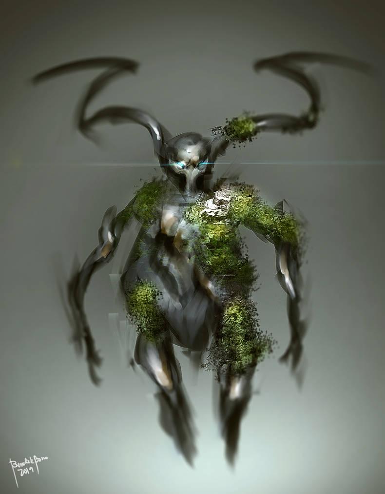 Woodra Creature by benedickbana