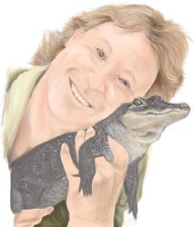 Steve Irwin by jivu