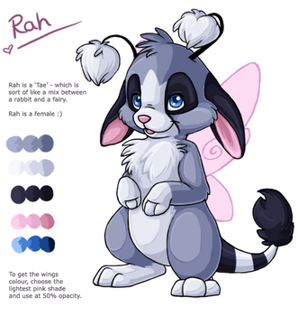 Rah's updated ref sheet by fidele