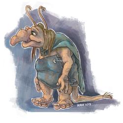 Molligog the Troll by fidele