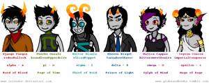 Talksprites: Alpha Fantrolls by Zelendur