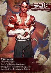 SDL: Chikane The Sword Breaker by TheJohnsonDesign