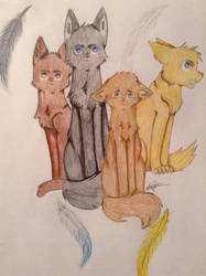 Four Brothers by NinjaKittenDoodles