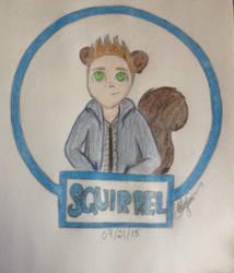 Squirrel by NinjaKittenDoodles