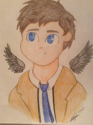 Another Cas!  by NinjaKittenDoodles