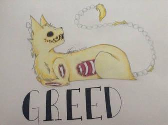 Seven Sins- Greed by NinjaKittenDoodles