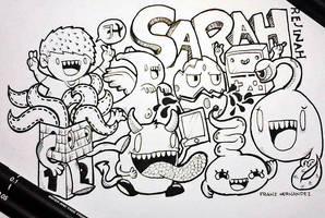 Trade art for Sarah by franz110596