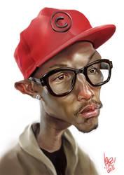 Pharrell Williams by Noamir