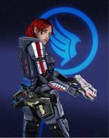 Commander Shepard by blankcanvas007