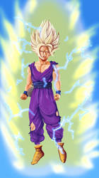 Ss2 Gohan by blankcanvas007