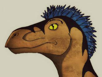 Female Utahraptor by Sturmblut