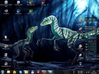 Sturm and Blue - Desktop by Sturmblut