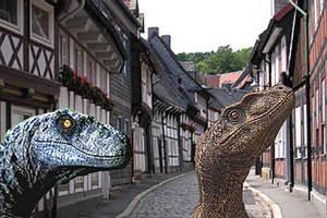 Raptors in Town. by Sturmblut