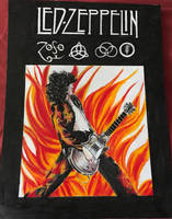 Jimmy Page by ledmaryz