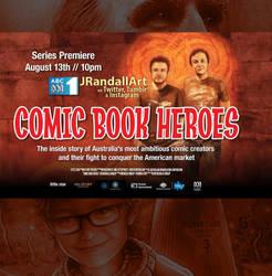 COMIC BOOK HEROES by JustinRandall