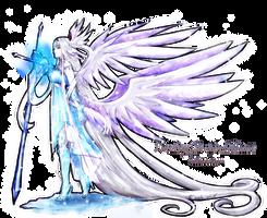 Winter Angel Knight Moonchosen by Moonchosen