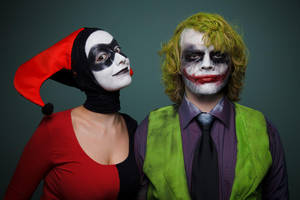 Joker+Harley. Mad couple, huh? by delenfer