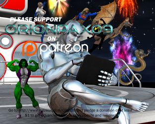 OrionPax09 Fanfictions on Patreon! by OrionPax09