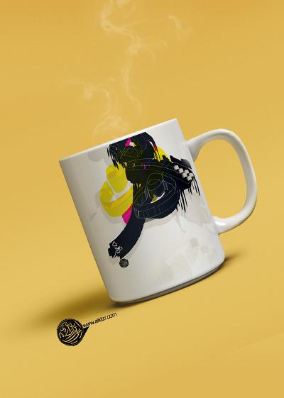 Typography-Coffee Mugs by alidzr