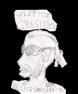 Winston Cheslock Hammersmetcham III by redwolfradolf