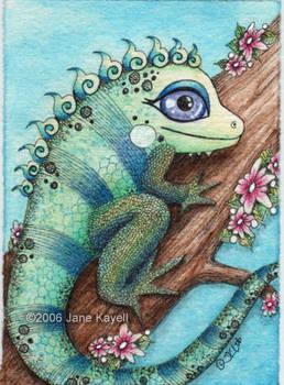 Ivana Iguana by katat0nik