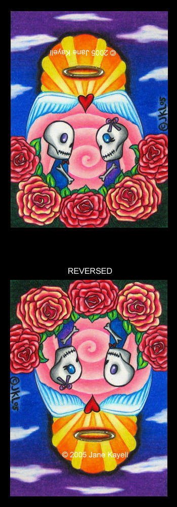 Eternal Love - Reversible Art by katat0nik