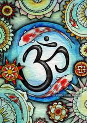 Koi Mandala - Collaboration by katat0nik