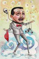 Pee Wee Herman Fantasy by katat0nik