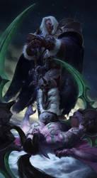 Arthas Menethil vs Illidan Stormrage by JiHunLee