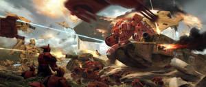 2015 warhammer 40000 by JiHunLee