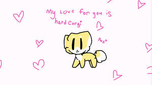 i love u hardCORGI by PawsWorlSAS