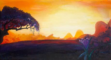Daring Sunset by Tridgeon