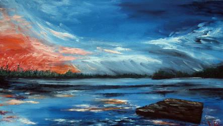 Rudd Pond by Tridgeon