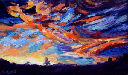 Sky Delight by Tridgeon