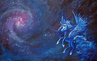 Lunar Galaxy by Tridgeon