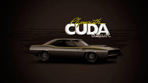 Plymouth Cuda Vector by depot-hdm