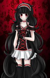 Gothic Lolita!Azami by SoNyaNeko