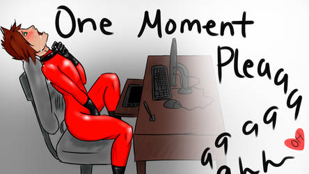 One Moment Please by Aiden-Ai