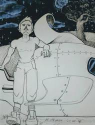 Quadpen's Space Werewolf by Aiden-Ai