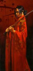 Xiau-Fong Samurai by linemonkey